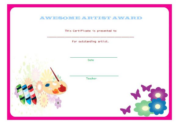 Pre_k_artist award