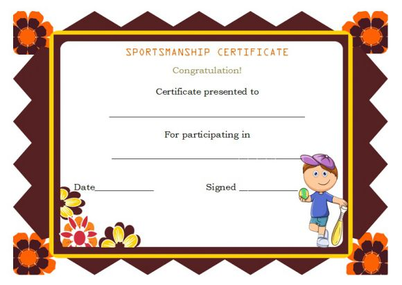 Pre_k_sportsmanship certificate