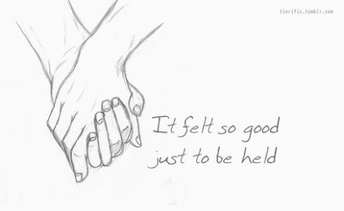 Love Drawing Holding Hands