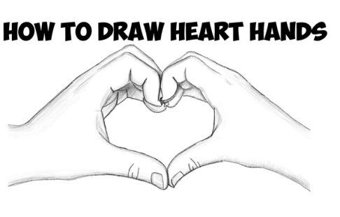 Love Drawings For Him Step By Step