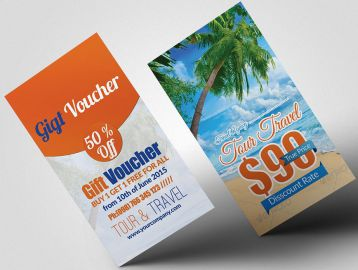 tour travel vacation gift certificate