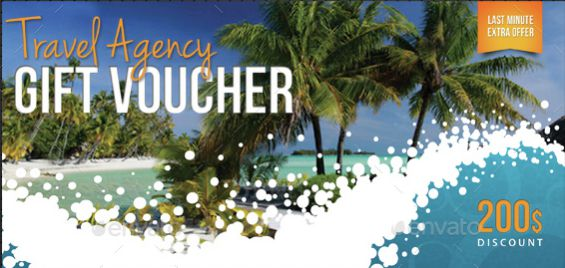 travel holiday gift certificate