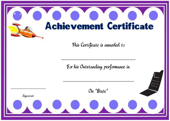 Science achievement award