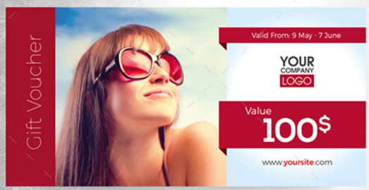 summer vacation gift certificate