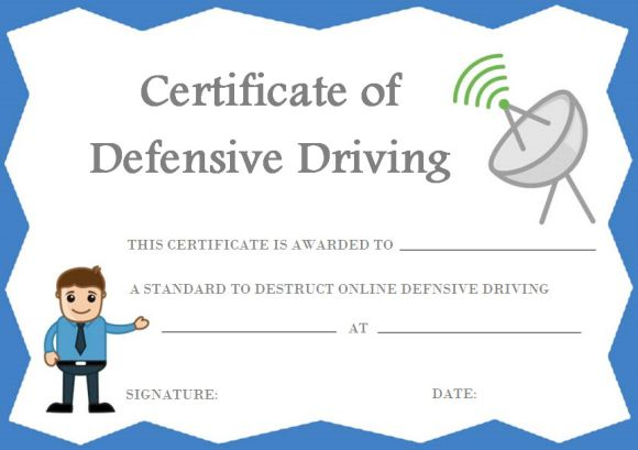 Defensive Driving Certificate Online