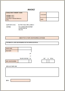 Free Contractor Invoice templates