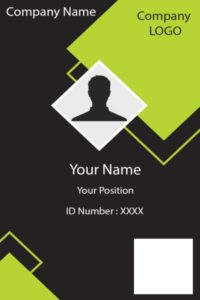 ID Card six Front
