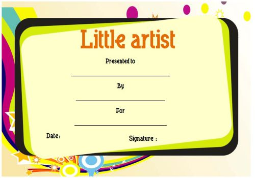 Art Award For Kids