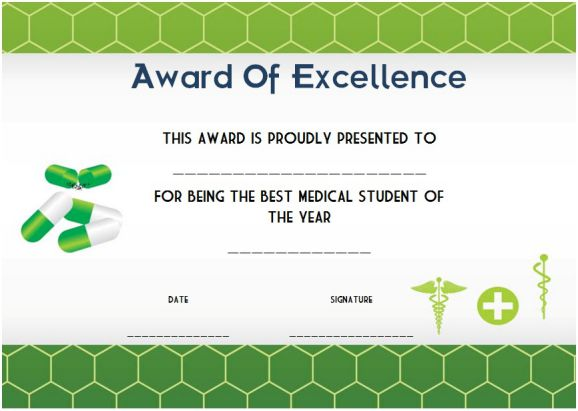 medical student of the year award