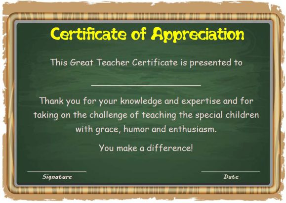 Thank you certificate_for teachers