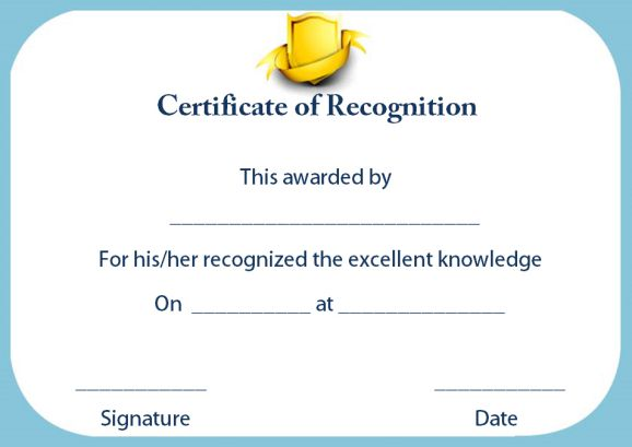 certificate of recognition for outstanding teacher