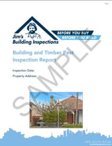 Building And Timber Pest Sample Report