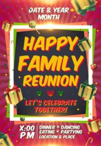 Family Reunion Templates