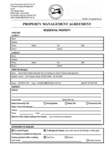 Management Form